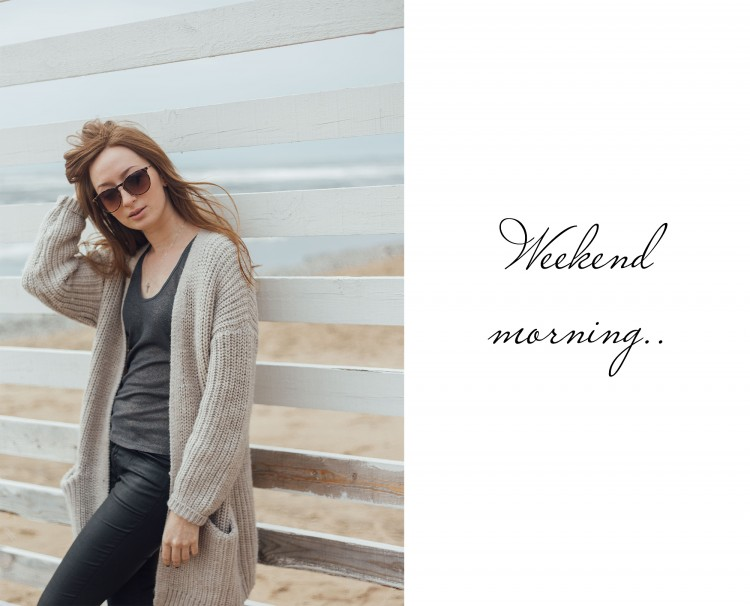long knitted cardigan outfit-1